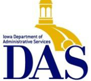 Iowa Department of Administrative Services logo