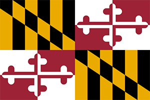 state flag of maryland