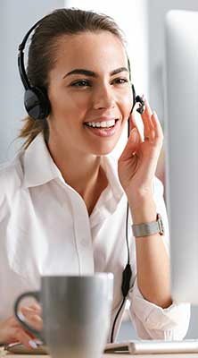 call center lady